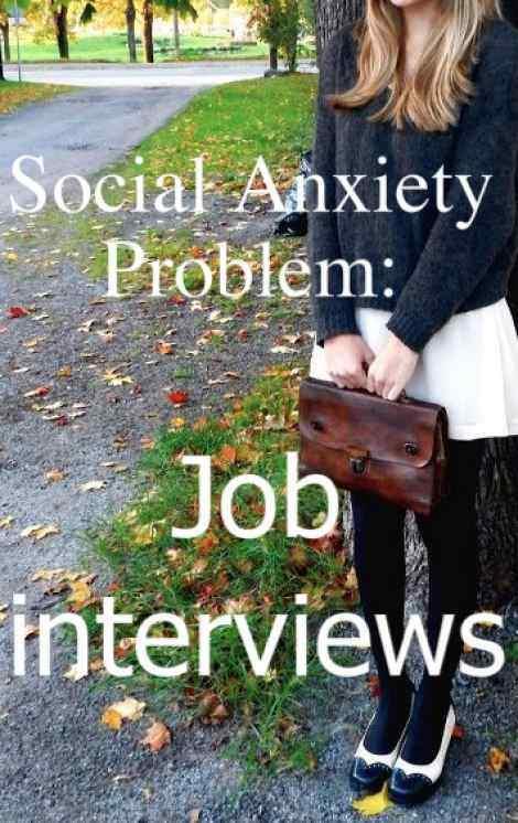 Trop timide pour trouver un travail