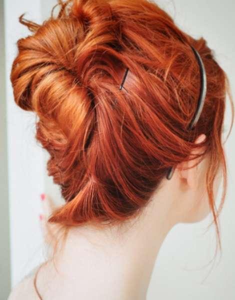 coiffure séduisante