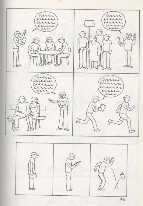 Exemple de mauvais story telling