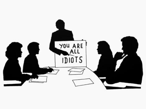 Application des règles du pouvoir au travail