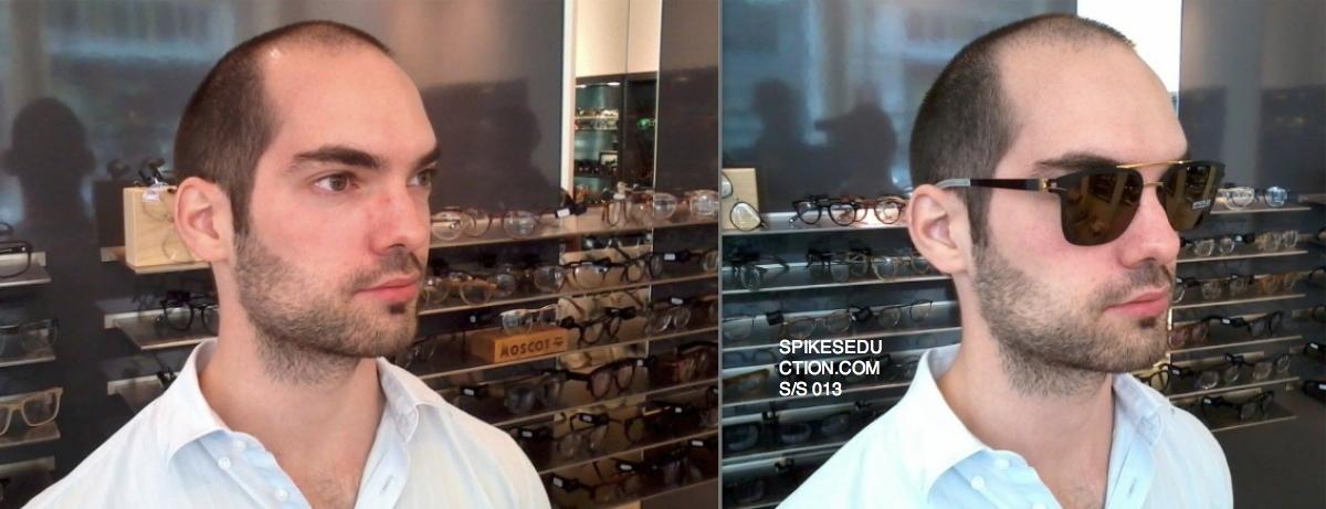 Relooking homme lunettes Max avant apres