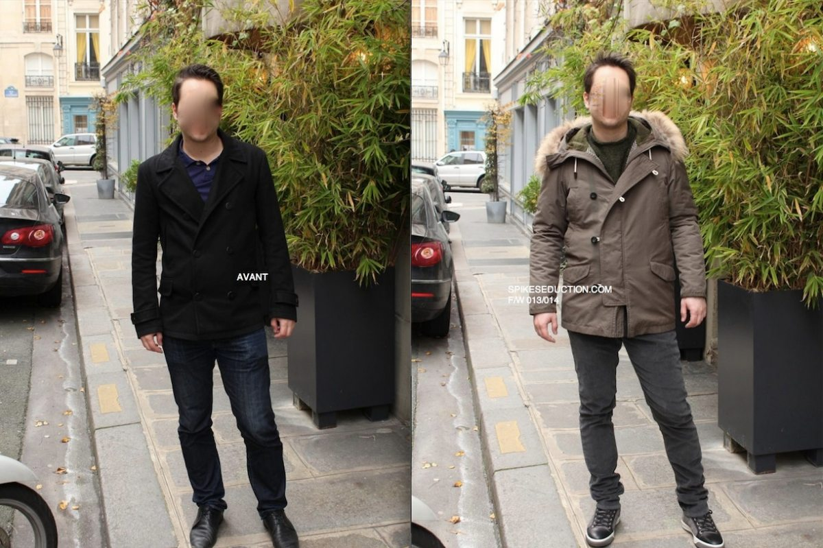 Relooking homme Florian avant apres