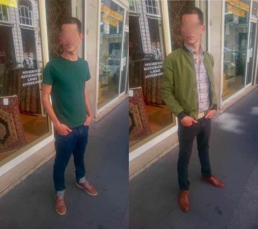 Relooking homme : exemples de photos avant-après